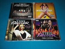 Steel Panther 4 CD Lot Feel The Steel Balls Out All You Can Eat Live From Lexxis