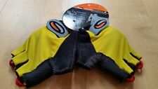 ASSOS Half Finger S-Series Enginered Gloves, Size S, Yellow-black , GV25(U)