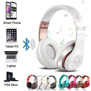Wireless Bluetooth Headphones with Noise Cancelling Over-Ear Stereo Earphones U