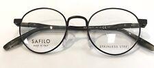 Safilo Bussola 03 4IN Eyeglasses Matte Brown Frame 48mm