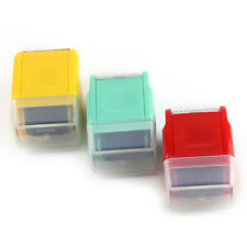 Büro Mode Guard Ihre ID Roller Stempel Self Inking Messy Code Sicherheit neu