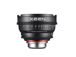 Rokinon XEEN XN14-PL 14mm T3.1 Professional Cine Lens for PL Mount