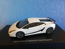LAMBORGHINI GALLARDO SUPERLEGGERA 2008 MONOCERUS METAL WHITE AUTOART 54615 1/43