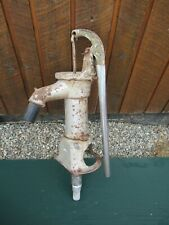 "Vintage Cast Iron Hand WATER PUMP with Old Grey Finish 22"" High"