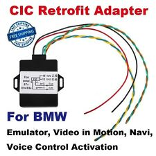 For BMW CIC Retrofit Adapter Emulator, Video in Motion, Navi, Voice Control