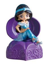 Bandai Disney Princess Capchara Heroine Doll 5 Figure Gashapon Aladdin Jasmine