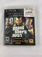 Playstation 3 PS3 Grand Theft Auto GTA IV 4 The Complete Edition Liberty City