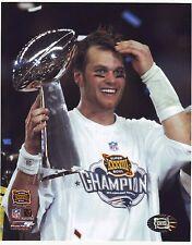 Tom Brady Super Bowl MVP 8x10 photo #ed Hologram #1