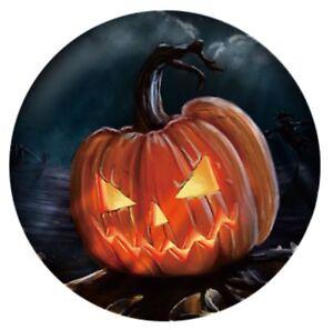 Halloween Black Orange Enamel Pumpkin Jack 20mm Snap Charm for Ginger Snaps
