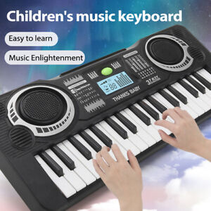Musical Keyboard 37 Keys Adult Kid Electric Digital Portable Electric Piano V7K0