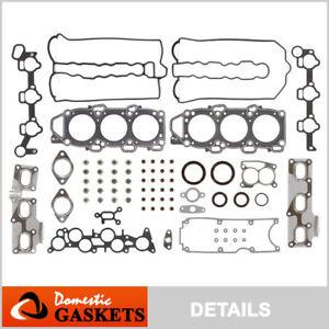 Fits 90-91 Mazda 929 V6 3.0L DOHC 24V New Head Gasket Set JE27