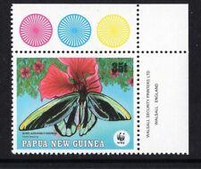 Papua New Guinea 1988 35t  WWF QUEEN ALEXANDRA'S BIRDWING BUTTERFLY SC 700 MNH