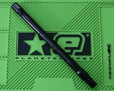 "Lapco 13.5"" Big Shot Gloss Black Piranha Spyder Thread Barrel Paintball Upgrade"