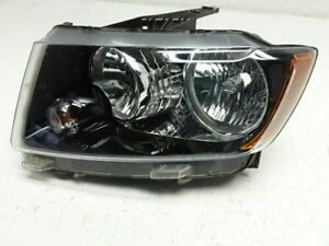 12 13 14 15 16 17 JEEP COMPASS LEFT SIDE HEADLAMP ASSEMBLY OEM  TAB IS BROKEN