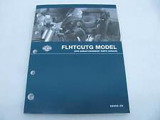 2009 Harley Davidson Touring FLHTCUTG Trike Parts Catalog Manual Book 99602-09