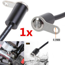 Waterproof CNC Scooter Handlebar Thumb Switch Self Latch On/Off Button Cable 1x