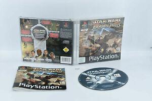 Star Wars Jedi Power Battles Sony Playstation 1 PS1 PSX  #3164