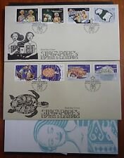 SINGAPORE 2016 Myths & Legend's Sis & Kusu Islands FDC First Day Cover Stamps