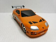 Jada Toys Fast And The Furious 1995 Toyota Supra R/C Car 97582 Orange
