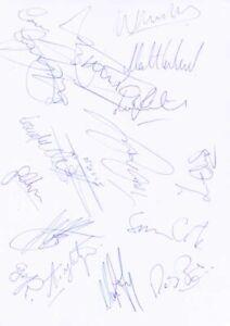 Leyton Orient FC - Signed Team Sheet - COA (14943)