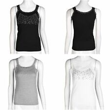 Unbranded Women's Lace Vest Top, Strappy, Cami Tops & Shirts
