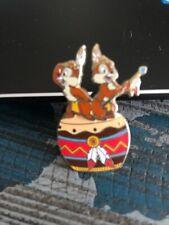 New ListingDisney - Chip & Dale Dancing on Drum Pin
