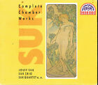 Coffret CD album: Josef Suk: complete chamber works. Suk trio. supraphon 3CDs. D