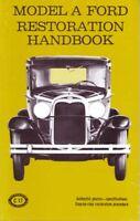 1928-1931 Ford Model A Restoration Maintenance Book Shop Service Repair Book