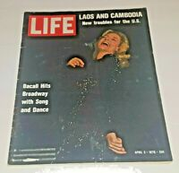 April 3, 1970 LIFE Magazine. Laos; Cambodia. Holy Loch. Old ads FREE SHIP 4 70s