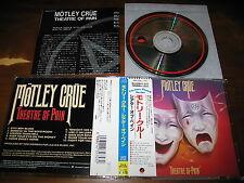 Motley Crue / Theatre of Pain JAPAN 18P2-2753 *G