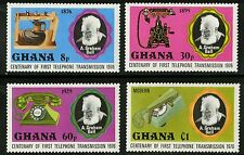 Ghana   1976   Scott # 601-604  Mint Lightly Hinged Set