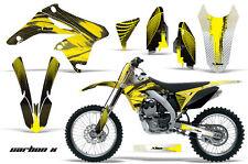 Suzuki RMZ 250 Graphic Kit AMR Racing Bike Decal RMZ250 Decal Parts 10-12 CARBON