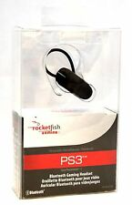 Rocketfish RF-GPS31204 PS3 Wireless Gaming Headset Bluetooth-2.0 phone ear-bud
