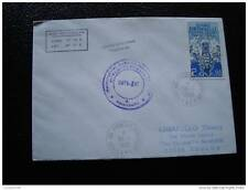 TAAF lettre 30/9/86 - timbre stamp - yvert et tellier n°120 (cy7)