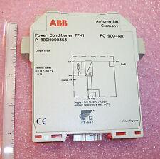 PC900-NR ABB CONTROLS POWER CONDITIONER FFH1 D3BDH000353