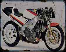 Honda Nr750 87 A4 Photo Print Motorbike Vintage Aged