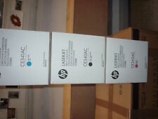 More details for hp laser jet printer cartridges ce340ac ce341ac ce343ac new mfp m775 boxed