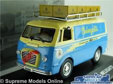 Alfa Romeo Romeo Furgone Van La Cimbali 1955 Blue Yellow EDICOLA 1:43 VCDE008 Mo