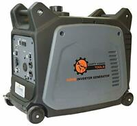 DHT 3,200-W Super Quiet Portable Gas Powered Electric Start Inverter Generator