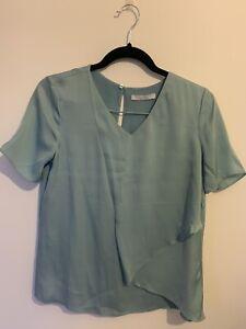 hugo boss silk blouse, UK Size 8