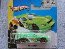 Hot Wheels 2013 #095/250 TIME TRACKER green HW Stunt New Casting 2013