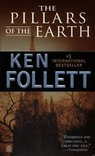 The Pillars of the Earth by Ken Follett FREE SHIPPING a paperback book follet
