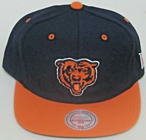 NFL Chicago Bears Multi-Color Flat Bill OSFA Snap Back Hat By Mitchell & Ness