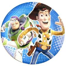 TOY STORY 3 PLATES 23CM PACK OF 8 BIRTHDAY PARTY PAPER PLATES