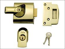Yale YALPBS1BLX BS1 Nightlatch British Standard Lock 60mm Brasslux Finish Visi