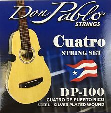 Cuerdas De Cuatro, Don Pablo. Strings For Puerto Rico Cuatro. Stainless Steel