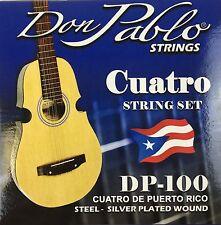 Cuerdas De Cuatro, Don Pablo. Strings For Puerto Rico Cuatro. Stainless Steel
