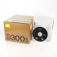 Nikon D300s DSLR Camera Body Box Only w/ Original Packaging; Nikkor DX