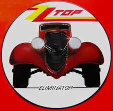 EX/EX!   ZZ TOP - ELIMINATOR VINYL LP PICTURE PIC DISC W3774 P