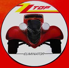EX/EX!   ZZ TOP - ELIMINATOR VINYL LP PICTURE PIC DISC W3774 P